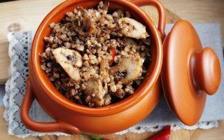 Гречка с грибами — топ-5 рецептов