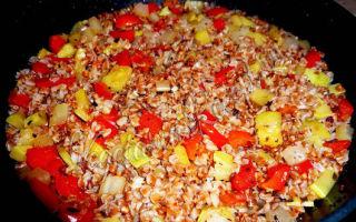 Гречка с овощами: вкусные варианты приготовления