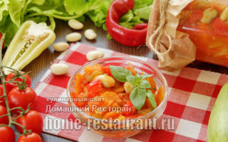 Салат из кабачков на зиму: простые рецепты