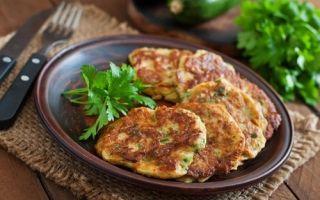 Оладьи из кабачков — рецепты на любой вкус