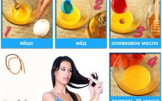 Маска для роста волос и против сухих кончиков – готовим и применяем правильно