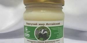 Барсучий жир от кашля - рекомендации по применению