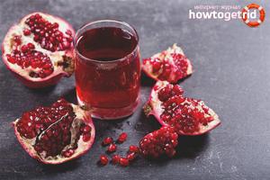 Гранатовый сок: польза для здоровья, состав и применение