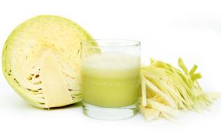 Капустный сок: польза и вред удивительного напитка