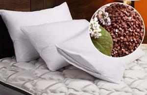 Подушка из гречневой лузги: польза и вред уникального изделия