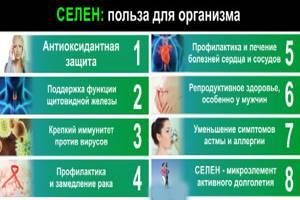 Селен-инструкция по применению, показания к приему, в какой форме выпуска вещество лучше усваивается
