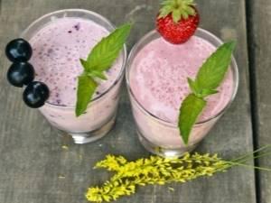 Смузи из замороженных ягод—рецепты приготовления