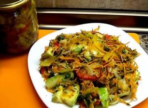 Кабачки по-корейски: от быстрых салатов до зимних заготовок