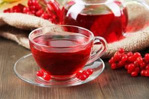 Чай с калиной – традиции предков для современных людей.
