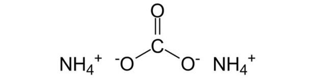Карбонат аммония Е503– польза для промышленности и влияние на организм