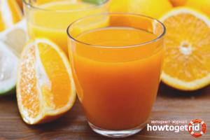 Апельсиновый сок: польза и вред, рецепты приготовления