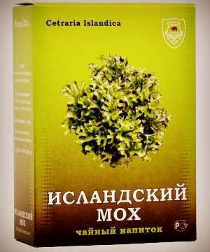 Исландский мох – эффективное средство от кашля