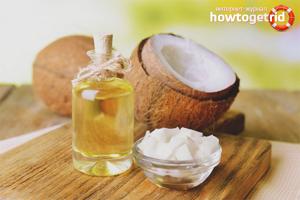 Кокосовое масло для ресниц: правила использования