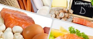 В каких продуктах содержится витамин Д: таблица со списком источников, где есть это вещество в большом количестве