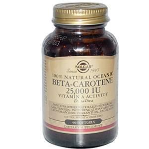 Бета-каротин от Солгар: где купить, цена препарата на сайте айхерб, форма выпуска в таблетках и инструкция по применению