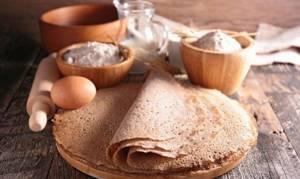 Гречневые блины: рецепты и особенности приготовления