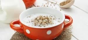 Гречневая каша на молоке: вкусные рецепты