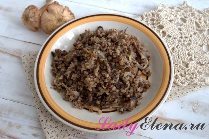Гречка с грибами - ТОП-5 рецептов
