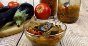 Лечо из баклажанов на зиму: правила и рецепты приготовления