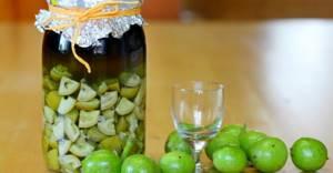 Настойка зеленого грецкого ореха: при каких заболеваниях можно применять это средство