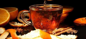 Чай с мандариновыми корками: как это делается