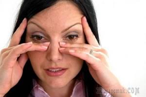 Как убрать морщины под глазами с помощью народных средств и упражнений