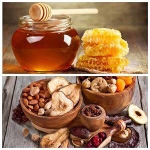 Смесь для иммунитета с медом, сухофруктами и не только