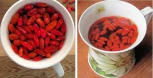 Чай с ягодами Годжи – приятный вкус и польза для фигуры