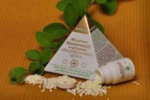 Маточное пчелиное адсорбированное сухое молочко: особенности применения