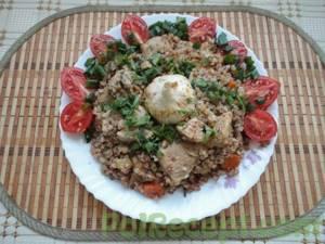 Плов из гречки: рецепты с мясом и без него