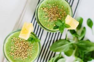 Смузи из петрушки – рецепты на разные вкусы