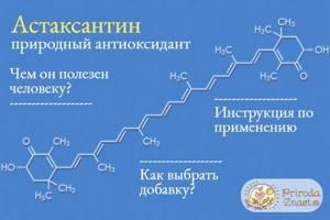 Астаксантин: что это такое и какую пользу он может принести организму человека, как антиоксиданты помогают замедлить процесс старения