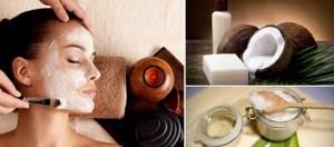Кокосовое масло для лица: польза и рецепты масок