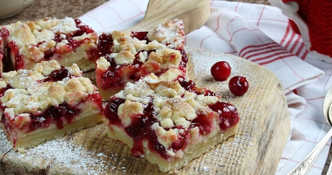 Пирог с клюквой – ТОП 10 рецептов