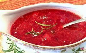 Соус из клюквы к мясу –рецепты для гурманов