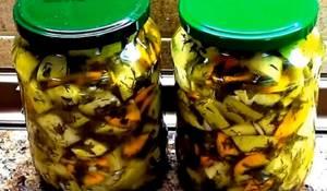 Кабачки как грузди: рецепт на зиму в двух вариациях