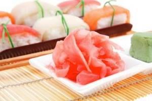 Маринованный имбирь: польза и вред ароматной закуски