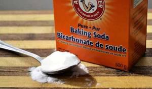 Сода от черных точек – простое решение сложной проблемы