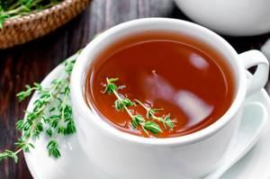 Чай с чабрецом - польза и вред напитка, рецепты приготовления