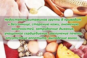 Витамины группы в в продуктах: благотворное влияние на организм
