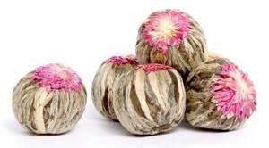 Связанный чай – цветок в бокале откроет новый вкус и аромат