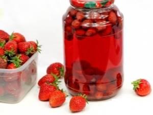 Компот из земляники – рецепты и советы по приготовлению
