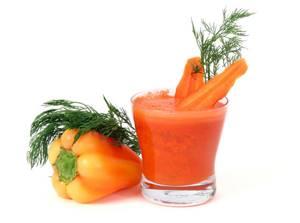 Овощные соки сохранят здоровье и красоту фигуры