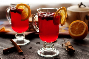 Чай с клюквой — рецепты молодости и здоровья