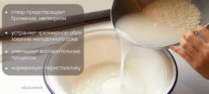 Как приготовить рисовый отвар для ребенка и взрослого?