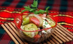 Салат с кинзой – подборка рецептов