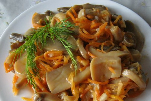 Вешенки по-корейски – вкусно, остро, быстро и необычно