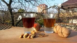 Настойка на ореховых перегородках: польза для здоровья и рецепты приготовления