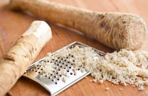 Хрен при подагре: лечебное действие и рецепты